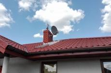 Antena satelitarna z układem zez