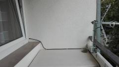 Montaz anteny i doprowadzenie przewodu do tv