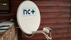 Antena TV-SAT nc+ z układem zez