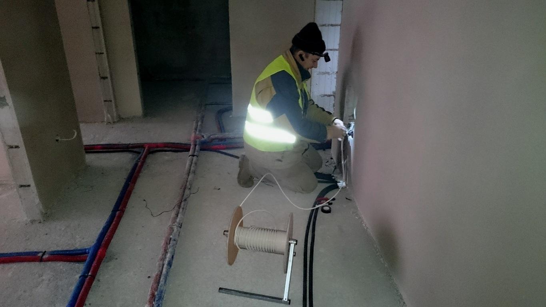 Wykonanie instalacji zbiorczej - kablowanie mieszkań