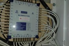 Multiswitch Telkom-Telmor 24 wyjść w instalacji zbiorczej