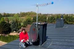 Podłączanie anteny satelitarnej Triax 100 AIZ