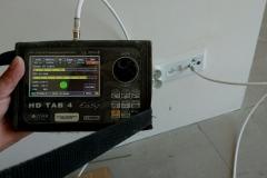 Pomiar sygnału - ostatni etap uruchomienie instalacji zbiorczej
