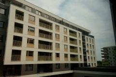 Widok nowego bloku z instalacją AIZ