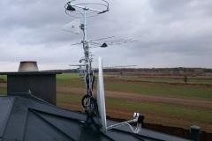 Komplet anten tv + radio + internet LTE