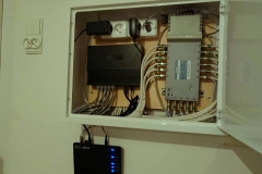 Montaż instalacji rtv-sat oraz internetu lte na 12 pomieszczeń