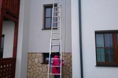 Przejście przewodów przez ścianę - uszczelnienie