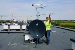Ustawianie anteny UHF - instalacja zbiorcza