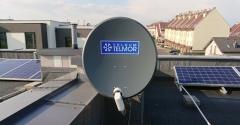 Antena Telkom-Telmor 80 z konwerterem Unicable + 3 x Legacy