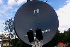 Antena satelitarna 120 cm z układem zeza