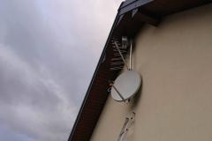 Antena satelitarna oraz konwerter Unicable Inverto + antena DVB-T
