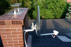 Antena satelitarna ustawiona na Astra 19,2 E