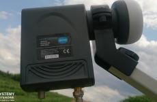 Antena z konwerterem satelitarnym Unicable