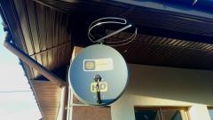 Mocowanie anten sat + FM