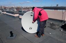 Montaż anteny satelitarnej 120 cm