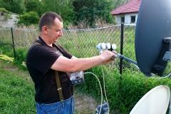 Montaż i ustawienie anteny sat + zez