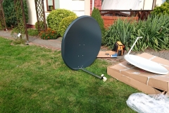 Montujemy i większe anteny dla osób prywatnych
