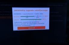 Sygnał satelitarny w dekoderze Orange