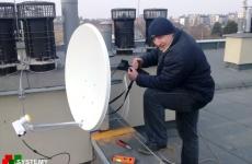 Pomiar sygnału antenowego na dachu - Lublin