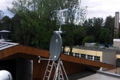Ustawienie anten zbiorczych - Nałęczów nowy szpital