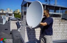 Ustawienie anteny sat z konwerterem OCTO