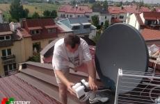 Ustawianie konwerterów na antenie sat - na dwie satelity