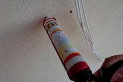 Wstrzelenie kotwy chemicznej pod mocowanie uchwytu antenowego na ścianie