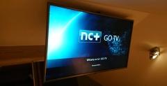 ekran startowy nc+ go na telewizorze
