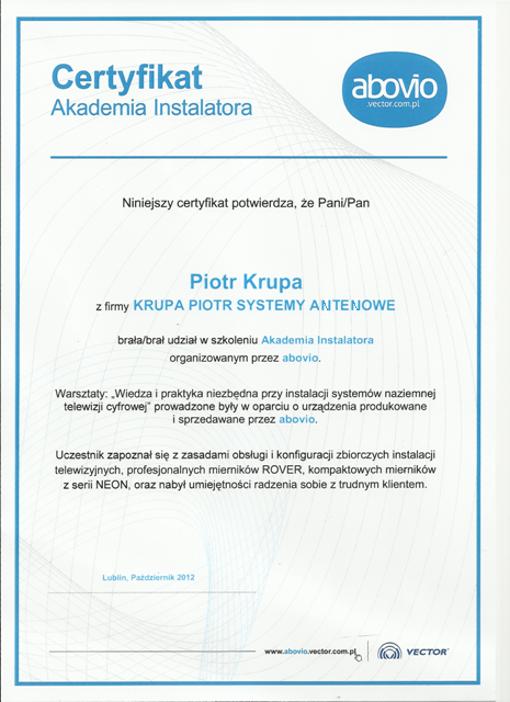 Certyfikat-abovio