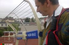 Antena TELKOM-TELMOR na dachu - Lublin