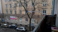 Antena logarytmiczna w centrum Lublina i sygnał DVB-T z odbicia