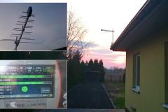 Silna antena DV-T (aktywna) sygnał ponad normę