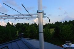 Mocowanie anteny logarytmicznej DVB-T do masztu