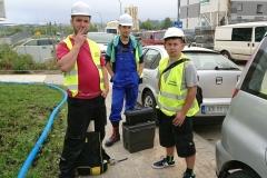 Ekipa gotowa do pracy - Lublin