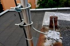Podłączenie do odgromienia anteny krótkofalarskiej