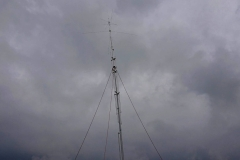 Podczas montażu anteny GP-7 DX cz.2