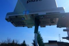 Antena modem ODU LTE z widokiem od dołu