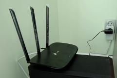 Adapter sieciowy TP Link przy doprowadzeniu internetu bez kabla