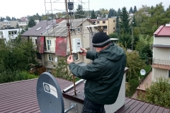 Montaż anteny LTE