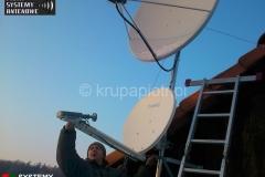 Korekcja ustawień anteny Tooway