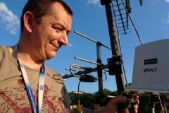 Podczas montażu IDU ODU w Cyfrowym Polsacie