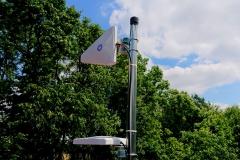 Antena ATK-LOG ALP LTE MIMO na maszcie antenowym
