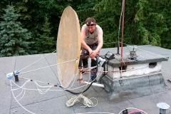 Stara antena z końca lat 90 o dziwo odbiera całkiem nieźle