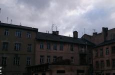 Widok na anteny - Lublin
